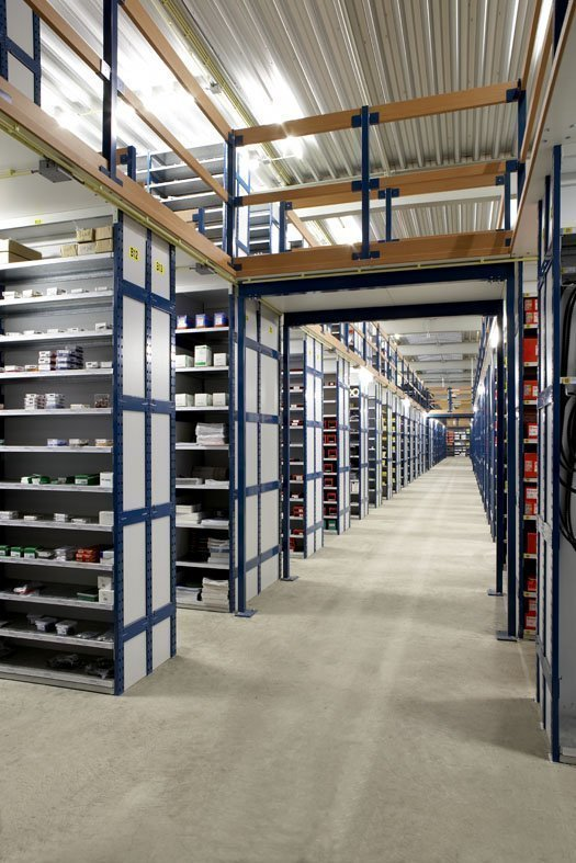 Mezzanine Storage Systems : Mezzanine floor system europe racking