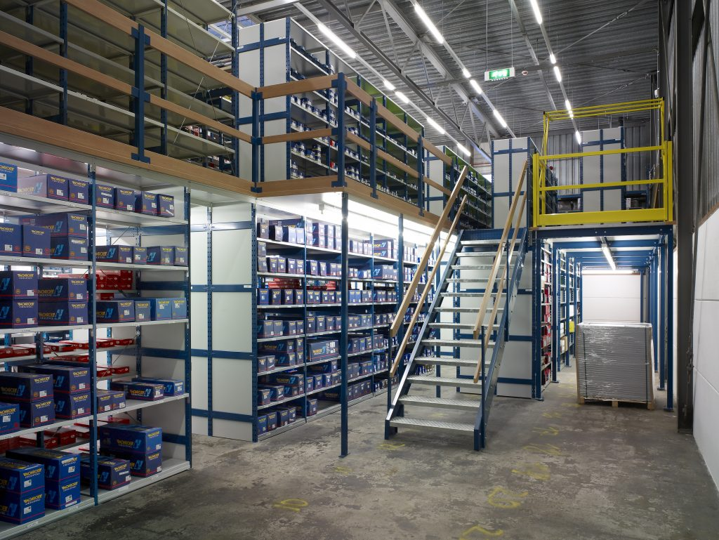Mezzanine Floor System Europe Racking