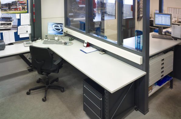 desks and office storage europe racking